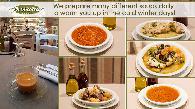 Great Variety of Soups daily